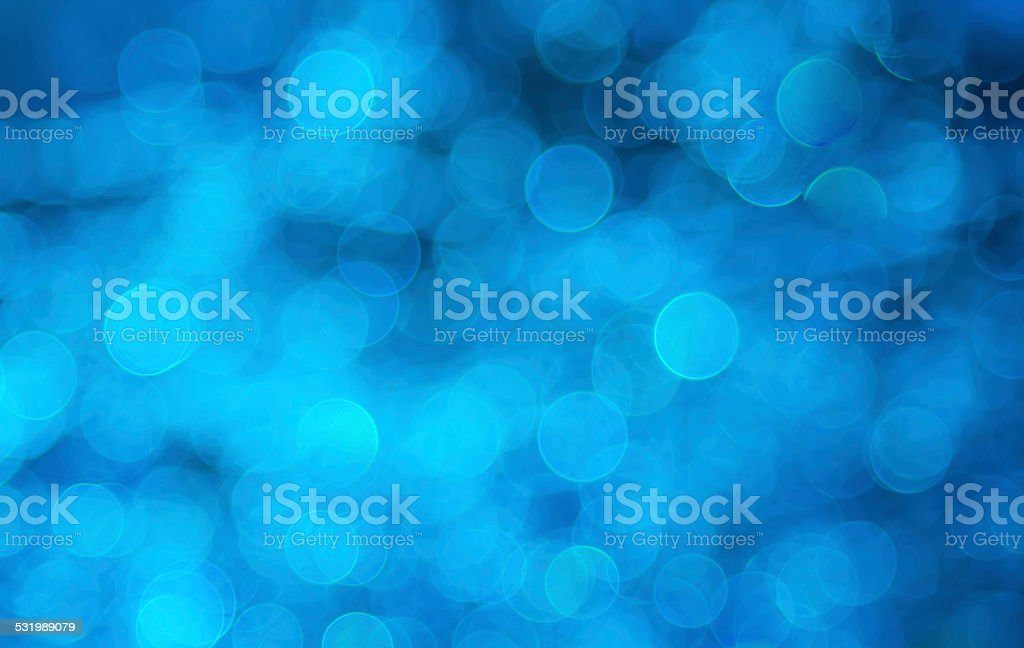 Bokeh blau stock photo