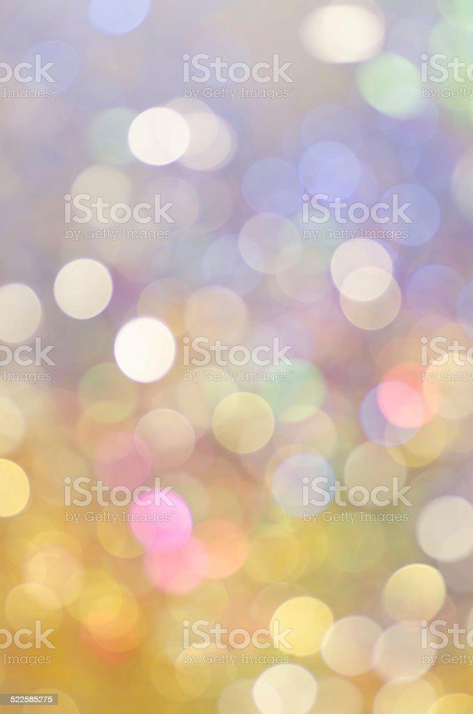 bokeh Christmas lights background stock photo