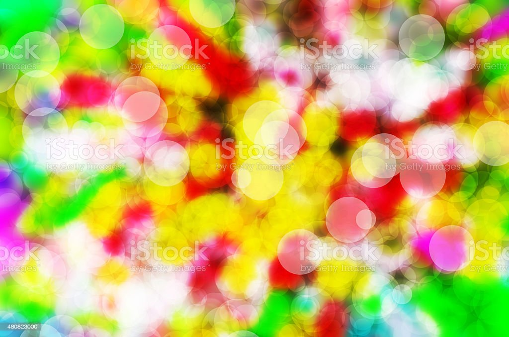 Bokeh colorful background stock photo