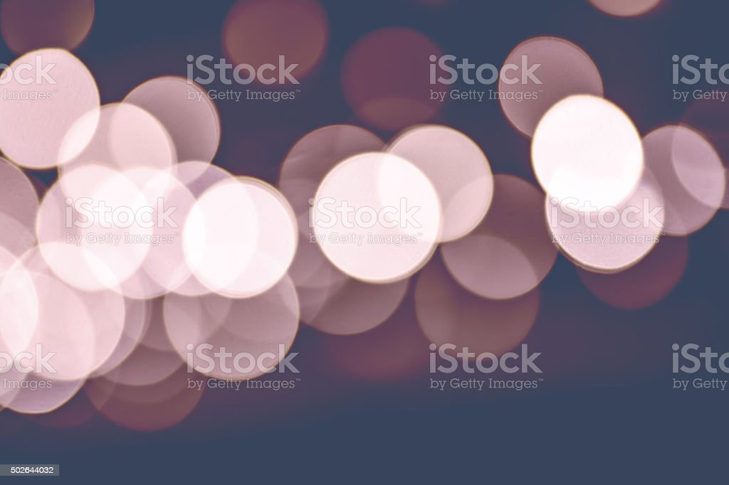Bokeh focus lens effect Rose Quartz and Serenity color background stock photo