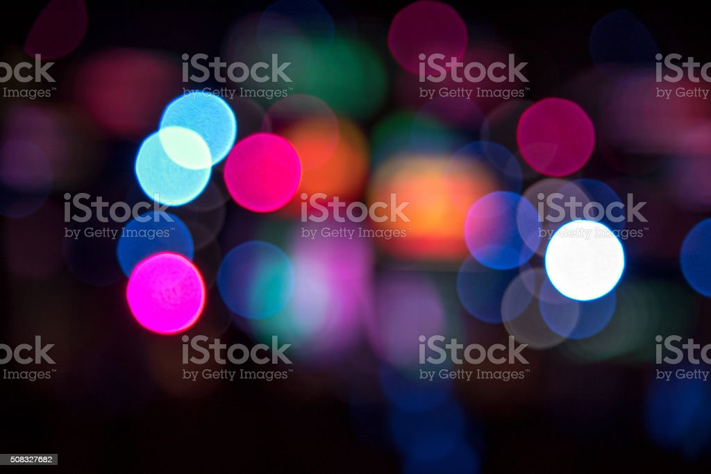bokeh from concert background stock photo
