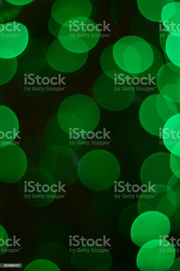 Bokeh green and Blue for the background stock photo