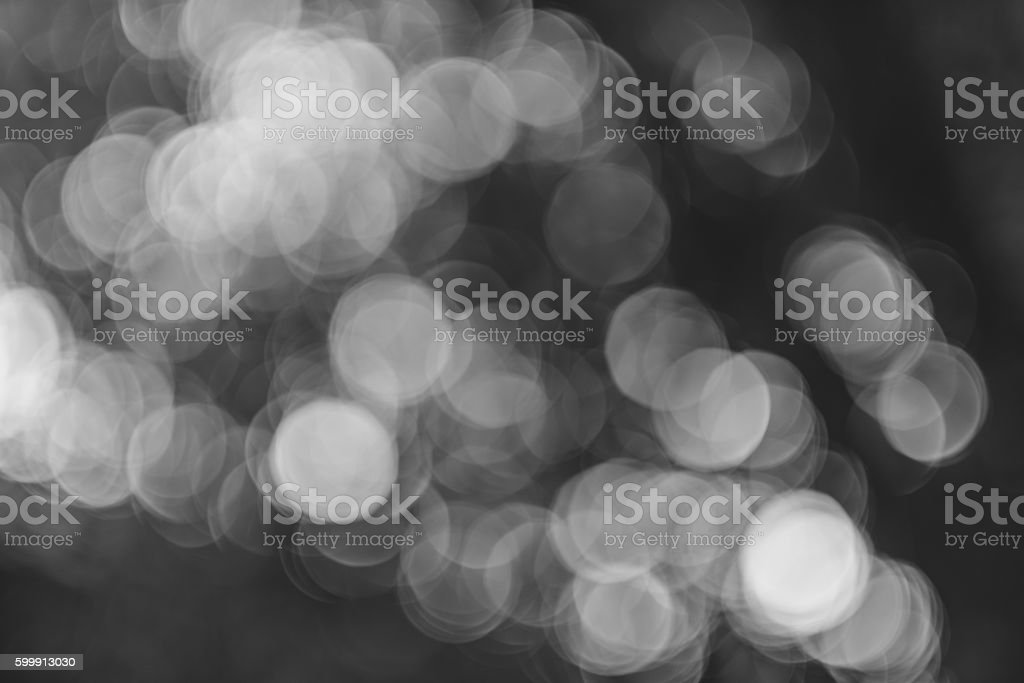 Bokeh leaves stock photo