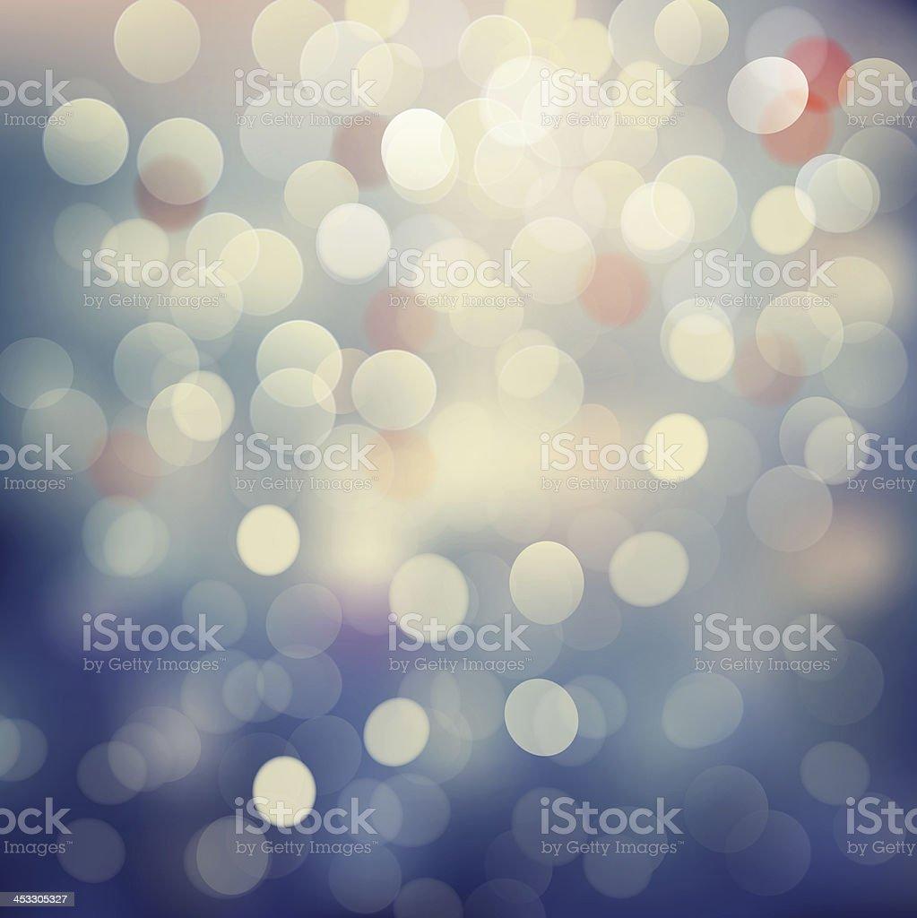 Bokeh light Vintage background stock photo
