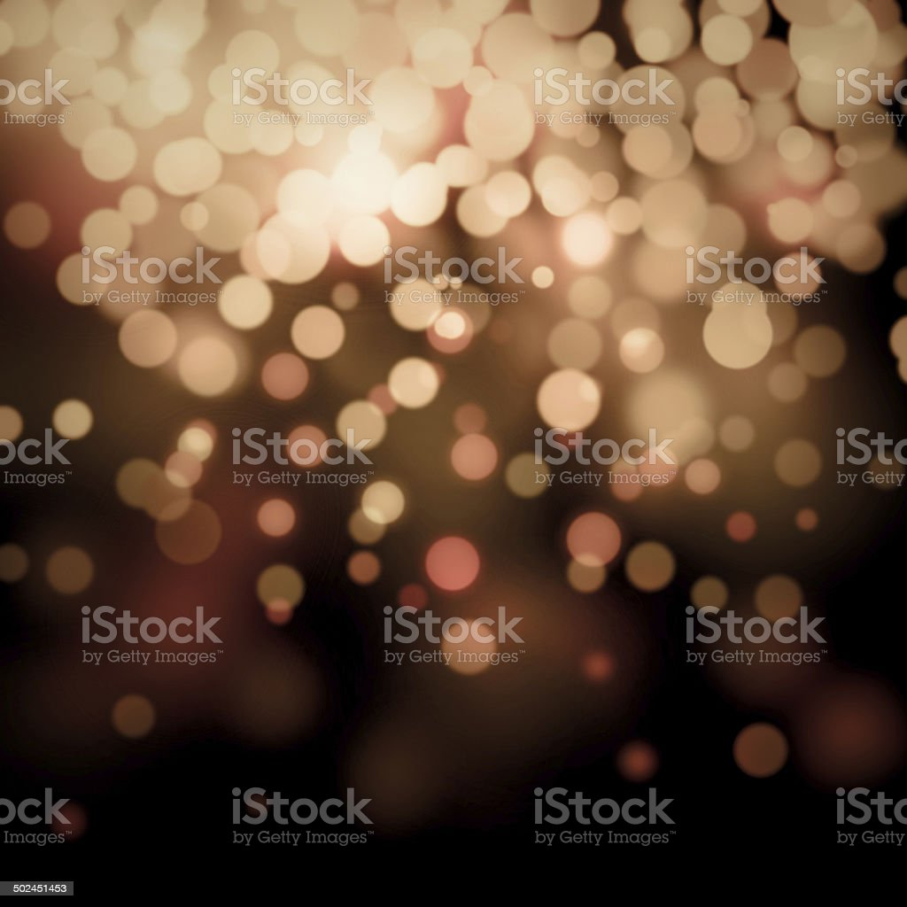 Bokeh light Vintage background stock photo