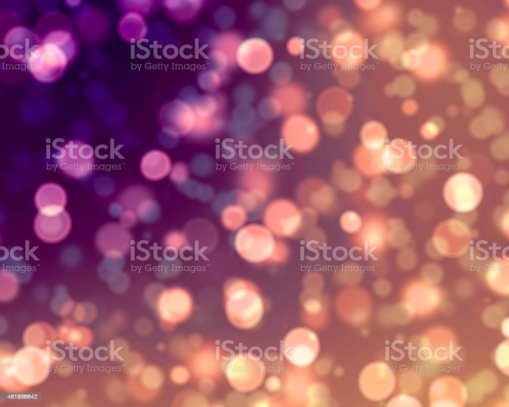 Bokeh Lights Background stock photo