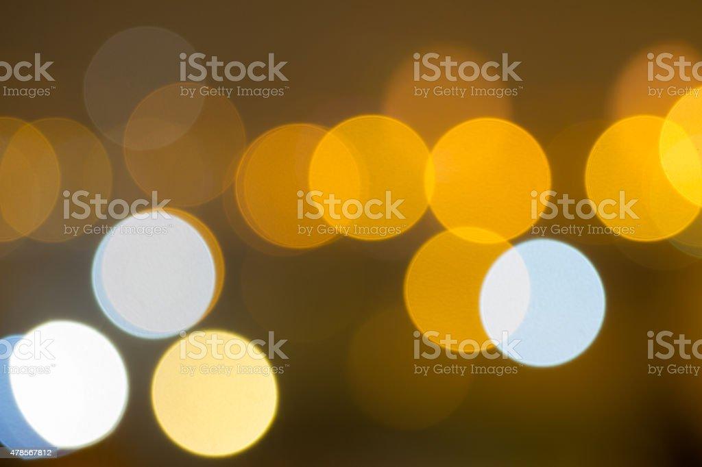 Bokeh of lights stock photo