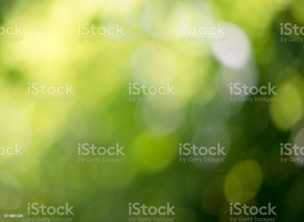 Bokeh of nature background stock photo