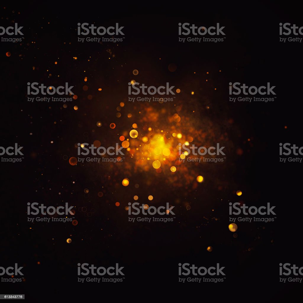 Bokeh shiny abstract background stock photo