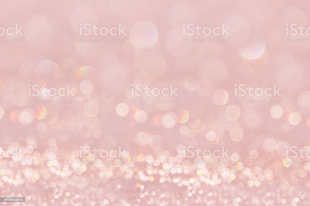 Bokeh soft pastel pink background. stock photo