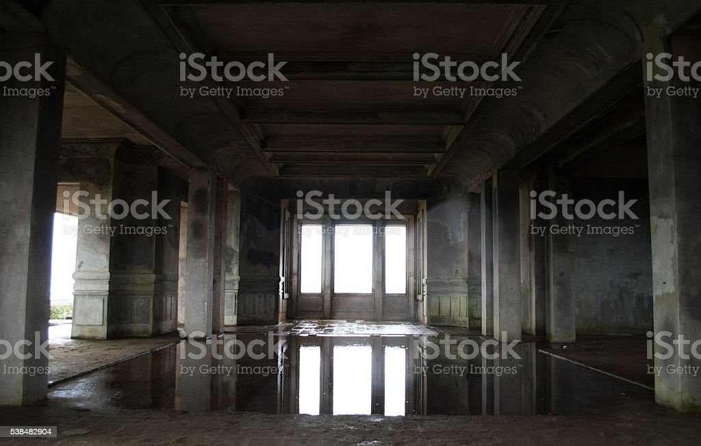 Bokor Hill Station stock photo