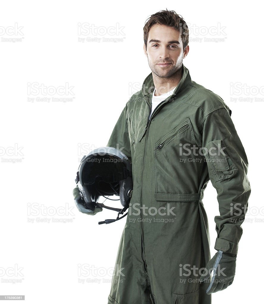 Bold, brash and ready to take the skies royalty-free stock photo