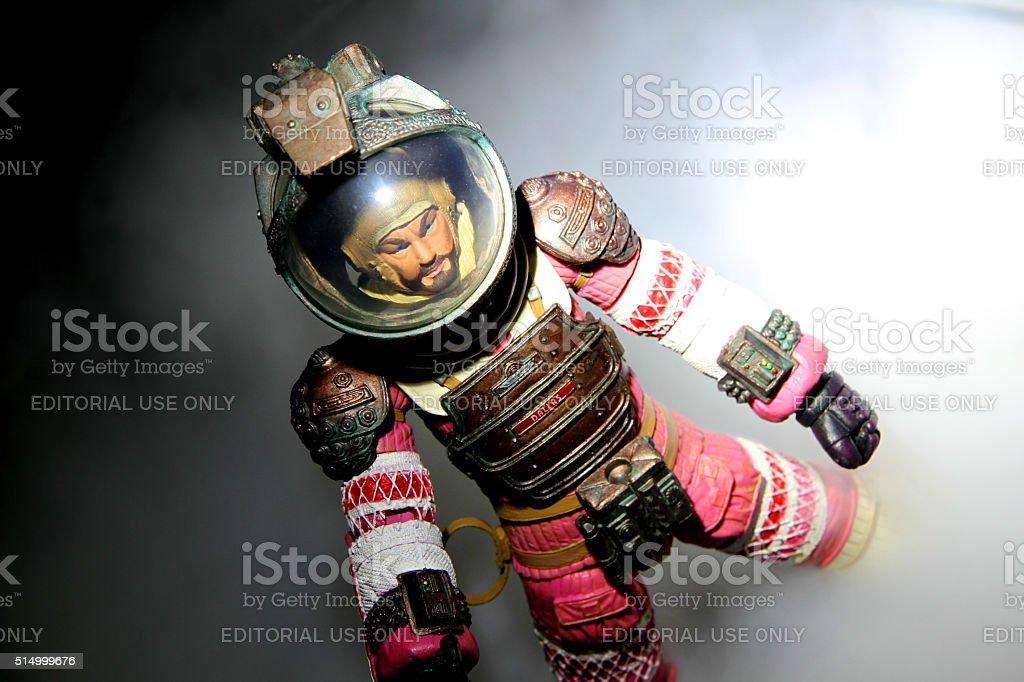 Bold Captain stock photo