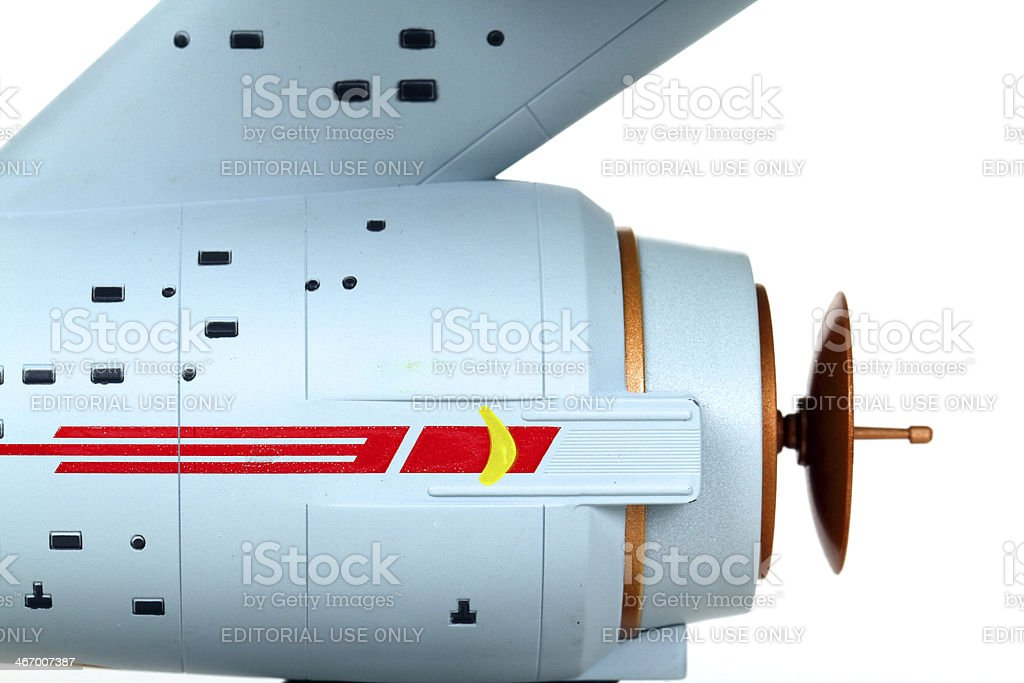 Boldly Going royalty-free stock photo