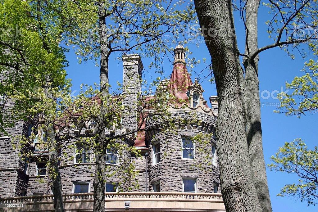 Boldt Castle Alexandria Bay New York stock photo