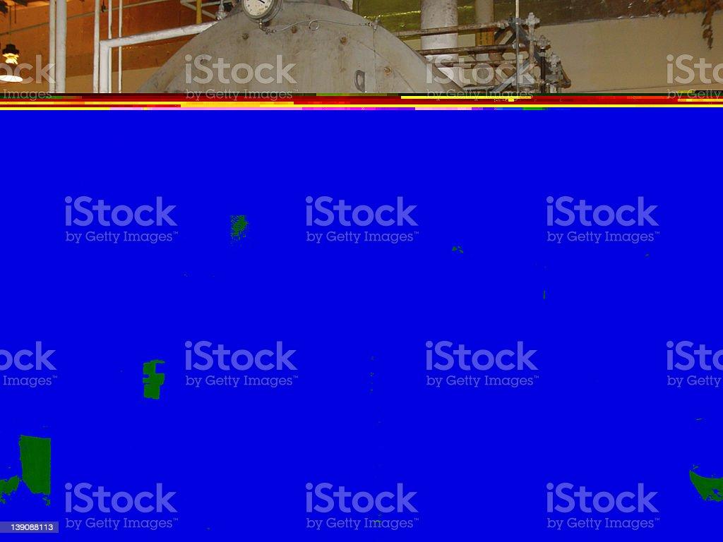 Bolier royalty-free stock photo