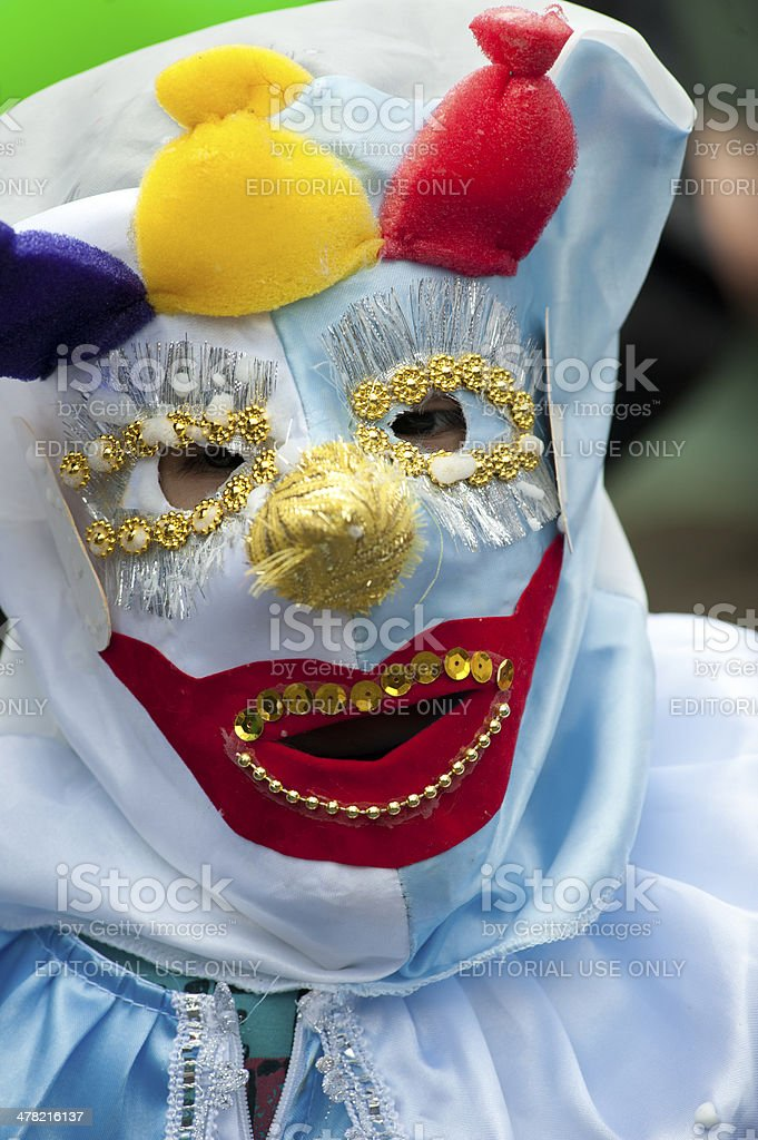 Bolivian Carnival royalty-free stock photo
