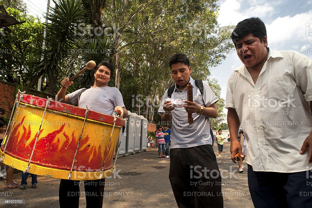 Bolivian Carnival royalty-free stock photo