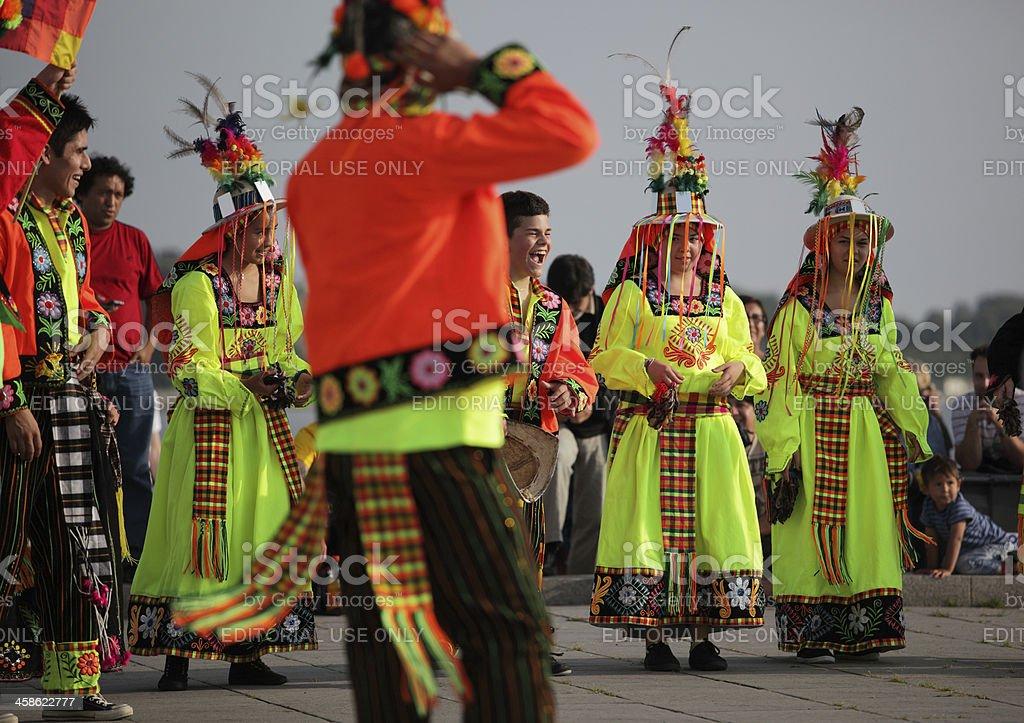 Bolivian Festival stock photo
