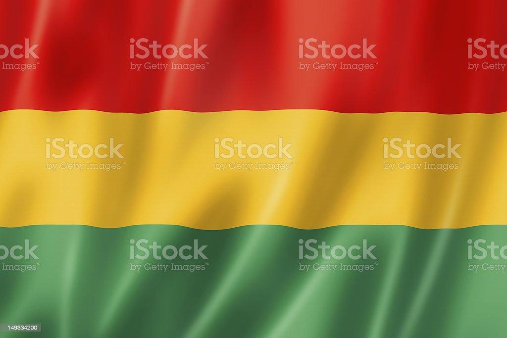 Bolivian flag stock photo