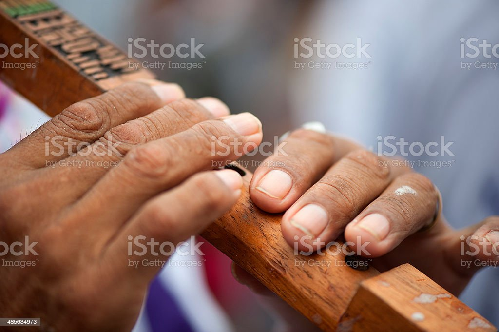 Bolivian Flute royalty-free stock photo