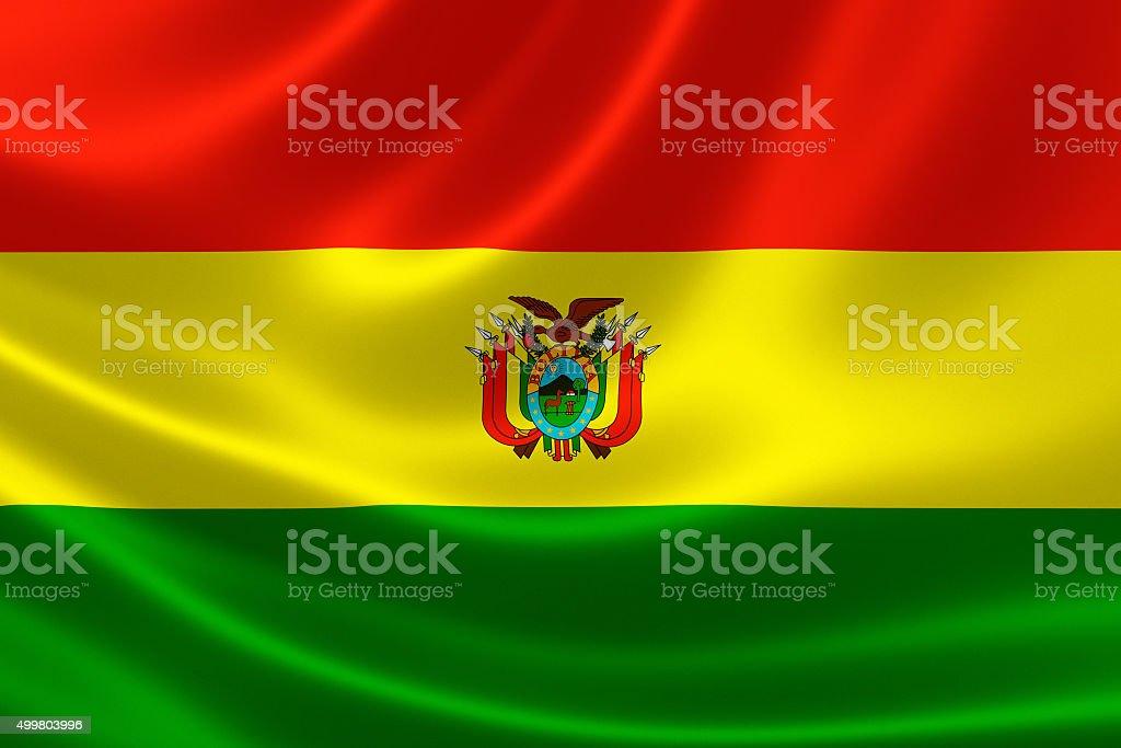 Bolivia's National Flag stock photo