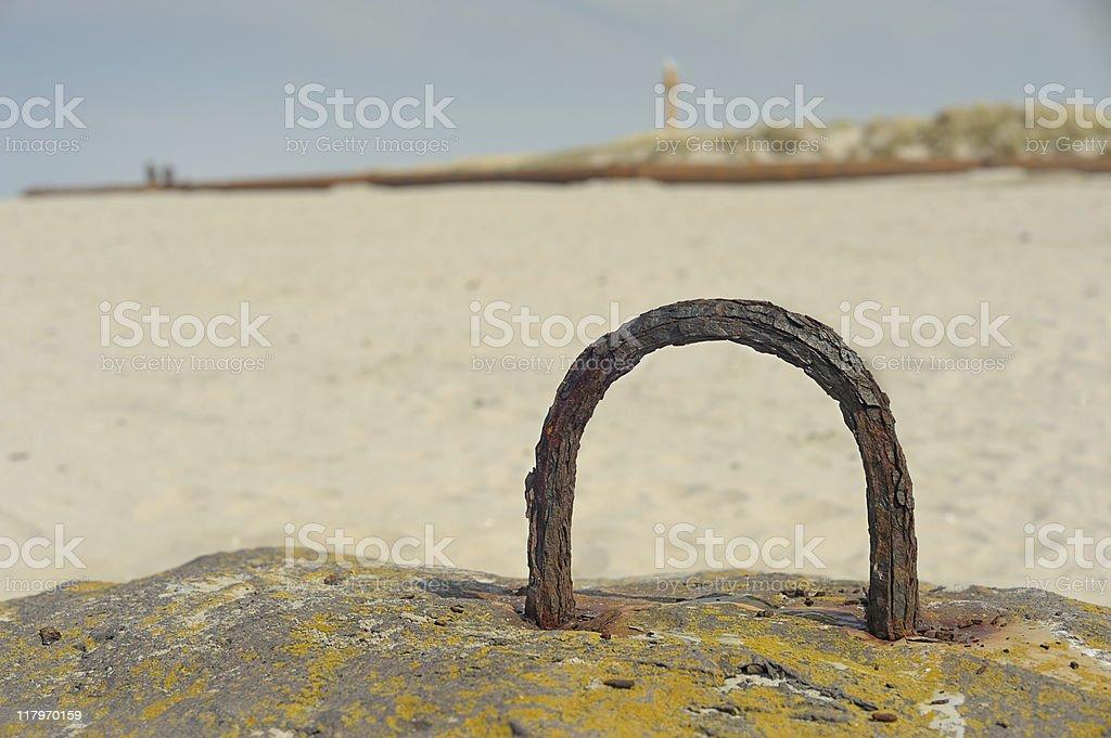 bollard stock photo