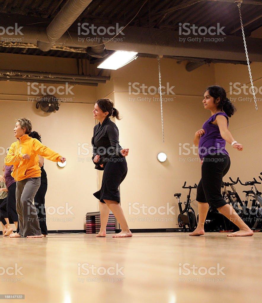 Bollywood Dance Group stock photo