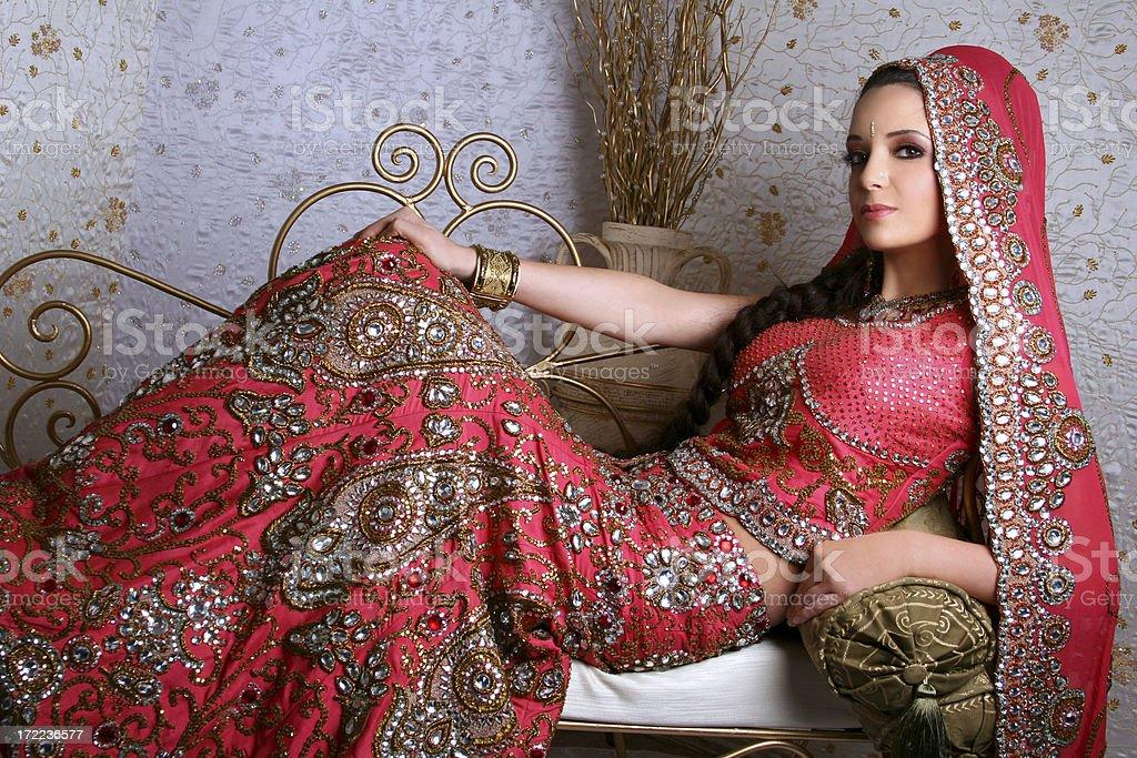 Bollywood Princess - Zaina stock photo