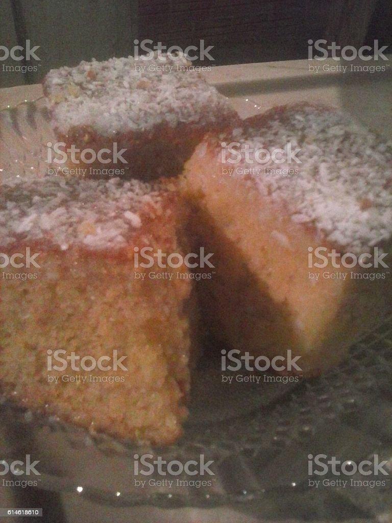 bolo delicioso stock photo