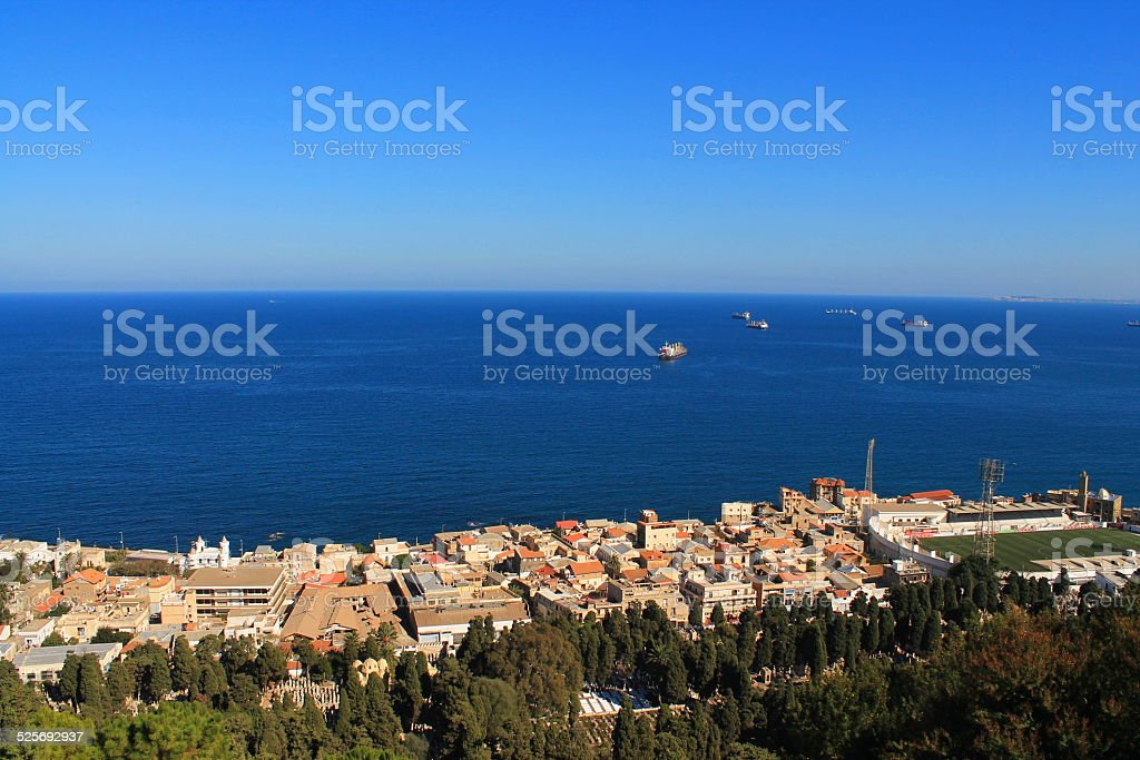 Bologhine (Ex Saint Eug?ne) ? Alger, Alger stock photo
