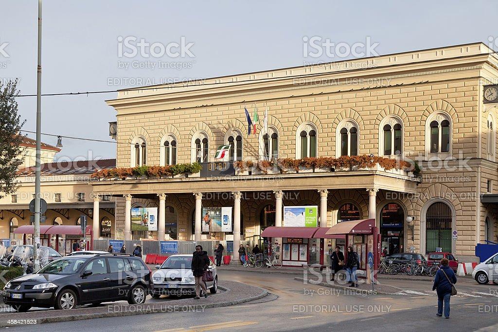 Bologna Centrale railway station, Italy royalty-free stock photo