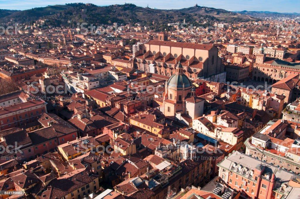 Bologna, Emilia Romagna, Italy. stock photo