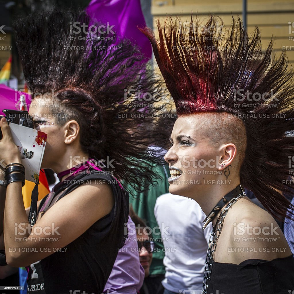 Bologna - Gay Pride 2012 royalty-free stock photo