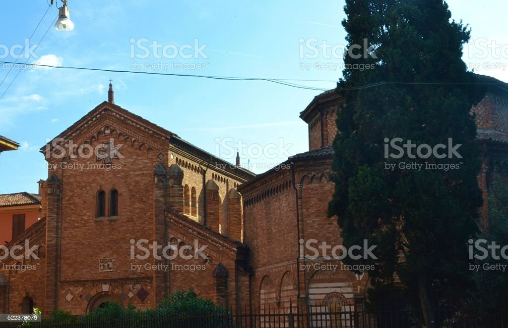 Bologna, Italy. Le sette chiese stock photo