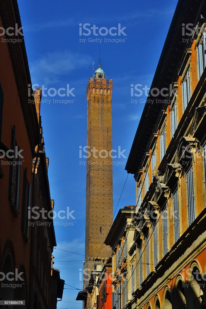 Bologna, Italy. Old town stock photo