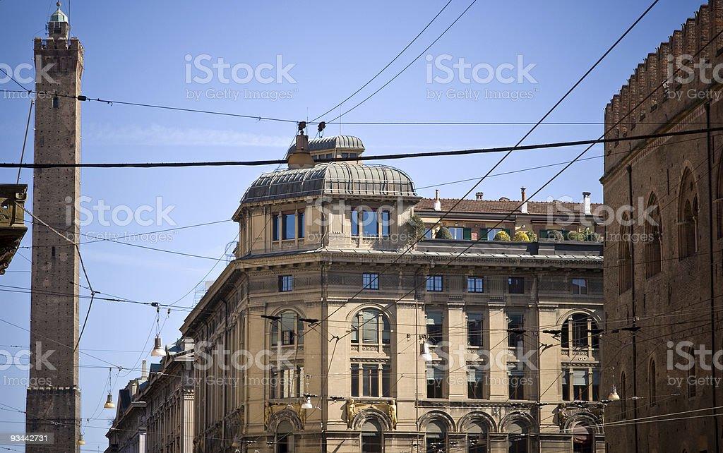 Bologna showcase stock photo