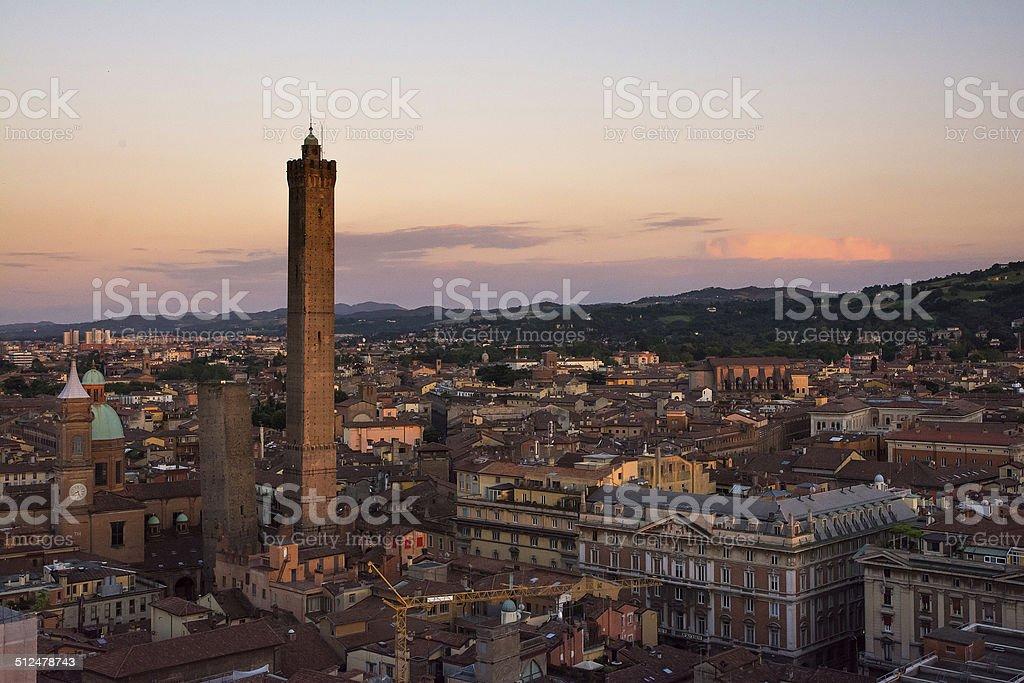 Bologna skyline stock photo