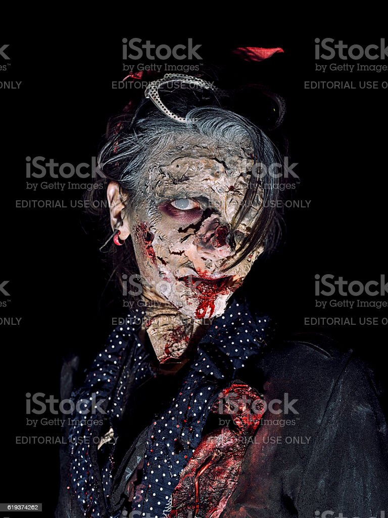 Bologna Zombie Walk stock photo
