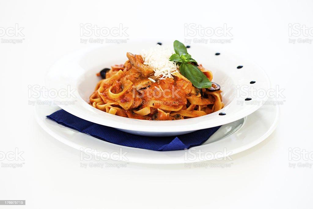 Bolognese pasta royalty-free stock photo