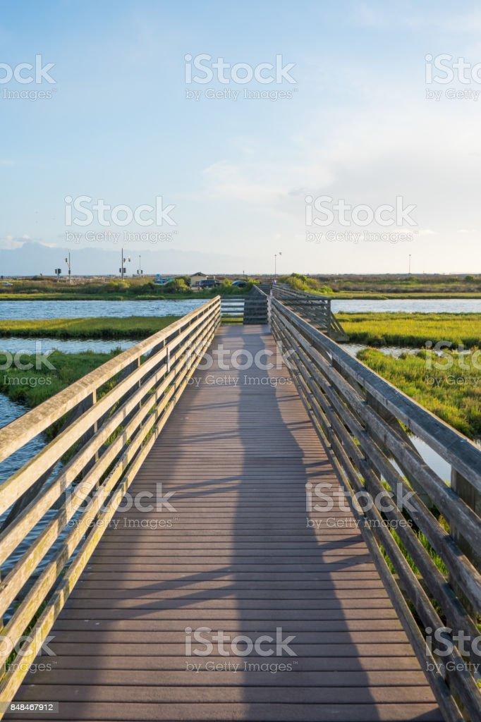 Bolsa Chica Wetlands, Huntington Beach stock photo