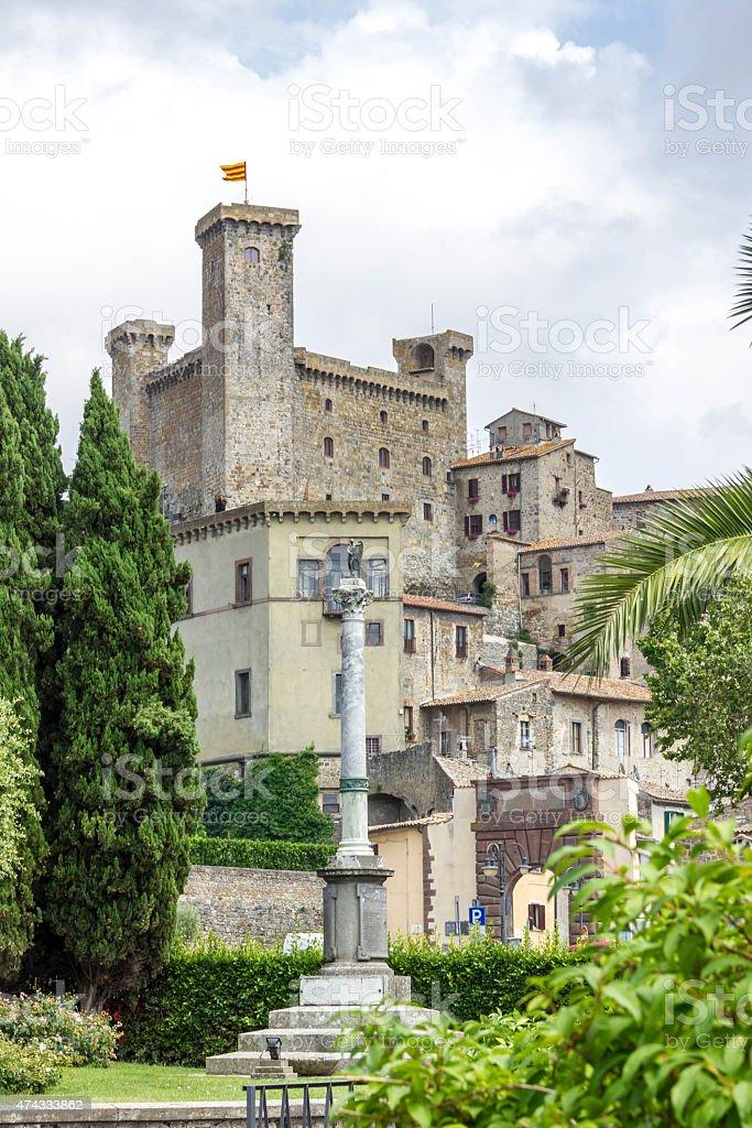 Bolsena City Lazio Italy stock photo