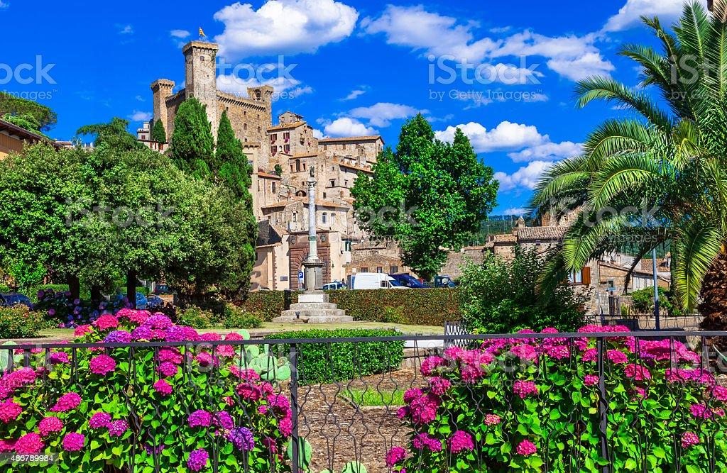 Bolsena,Lazio,Italy. stock photo