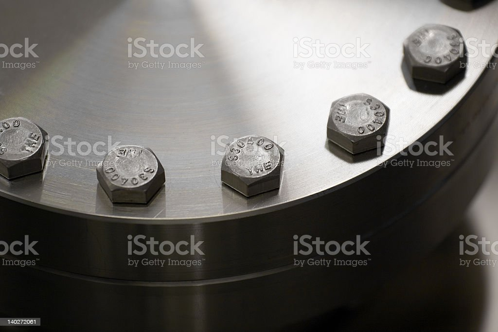 bolt pattern royalty-free stock photo