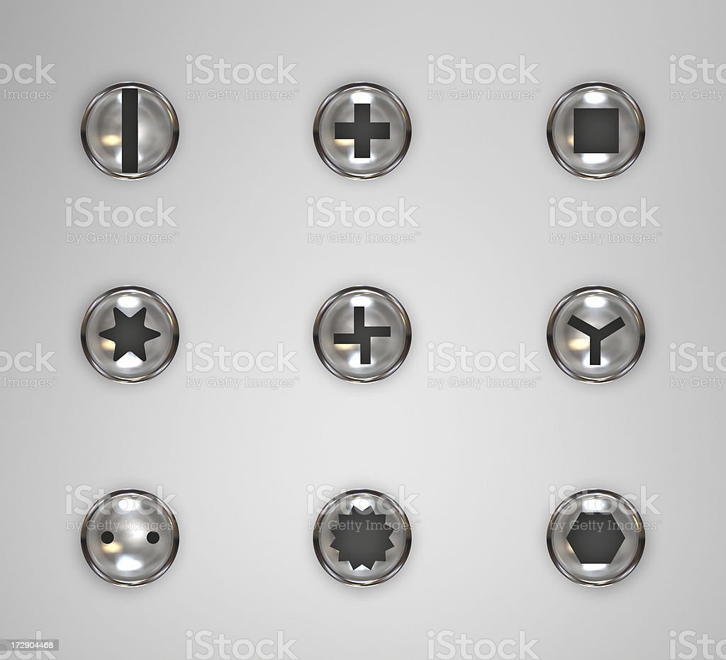 bolt screw stock photo