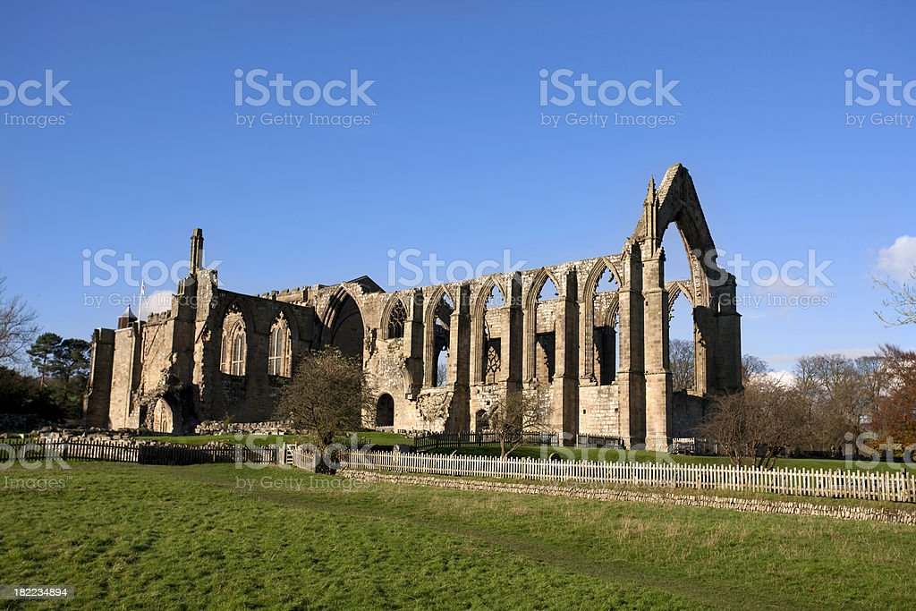 Bolton Abbey North Yorkshire royalty-free stock photo