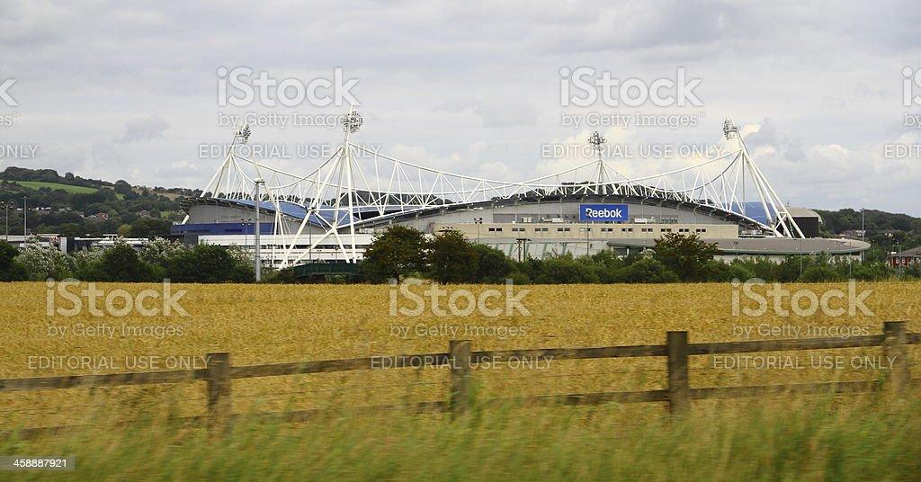 Bolton Football Stadium stock photo