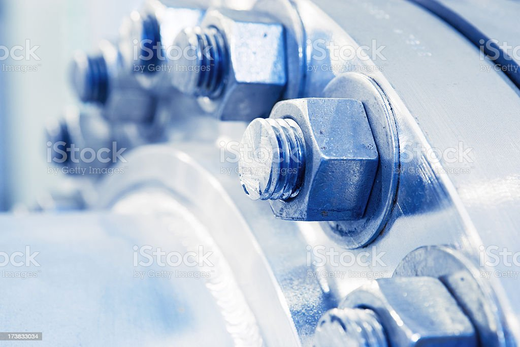 Bolts & Nuts royalty-free stock photo