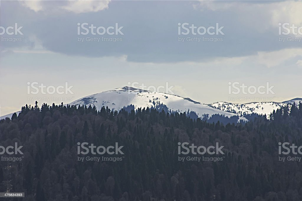 Bolu mountain stock photo