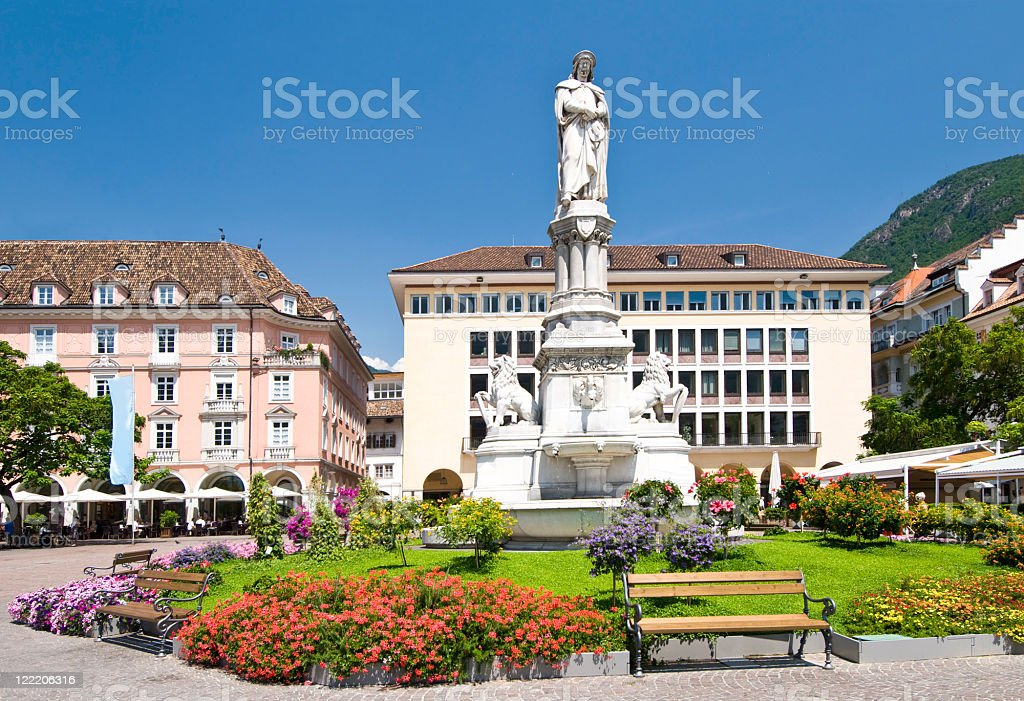 Bolzano (South Tyrol, Italy) stock photo